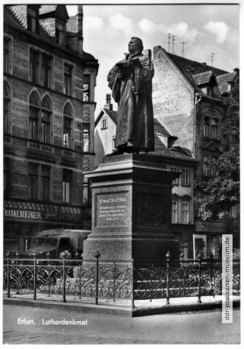 Luther-Denkmal - 1968