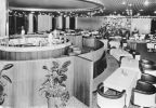 "Warnemünde, Sky-Bar"" mit Panorama-Cafe in 21.Etage des Hotel ""Neptun"" - 1976"