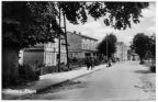 Dorfstraße in Glowe - 1960